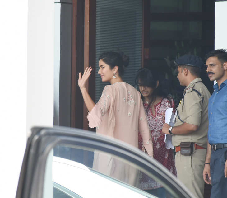 Katrina Kaif at Isha Ambani and Anand Piramal wedding