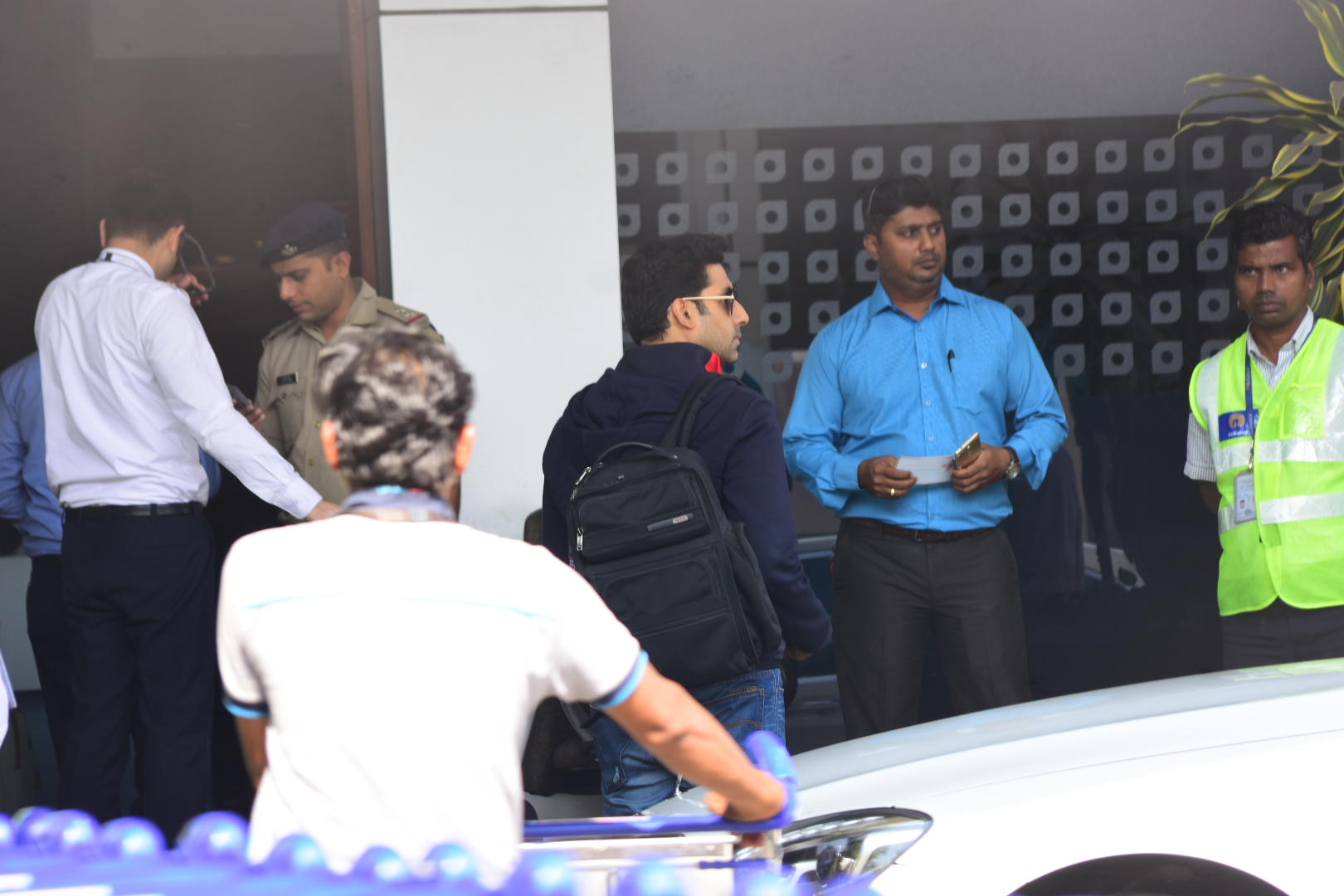 Abhishek Bachchan at Isha Ambani and Anand Piramal wedding