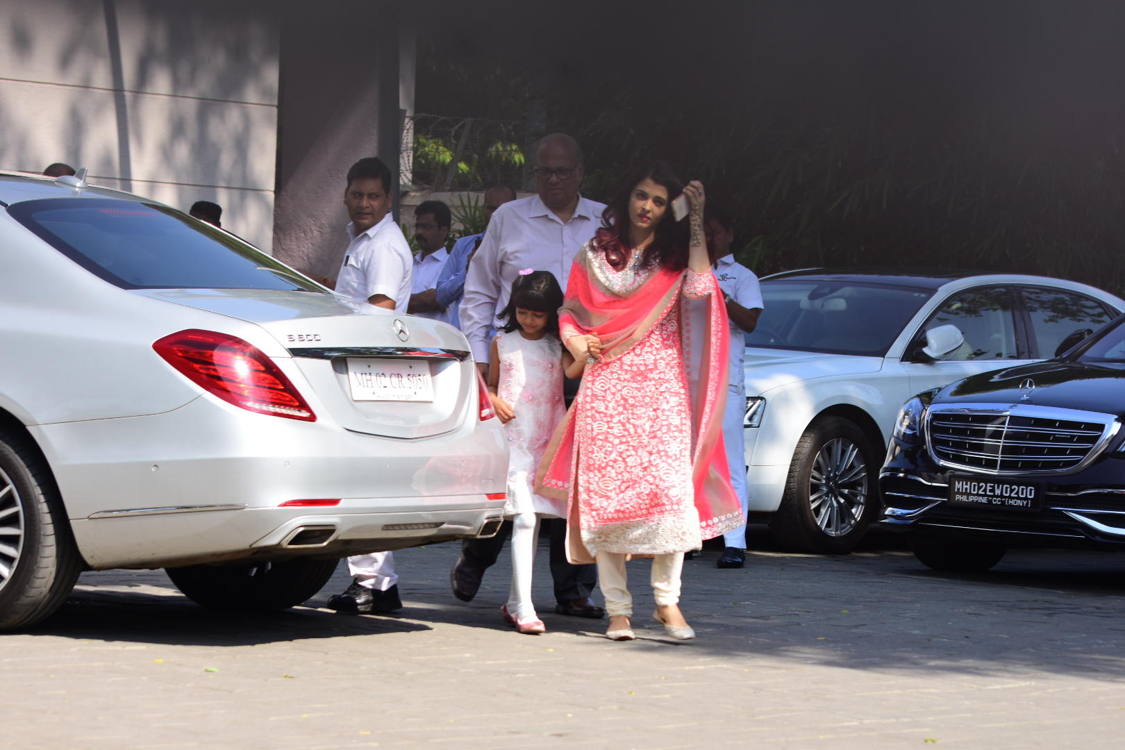 Aishwarya Rai Bachchan at Isha Ambani and Anand Piramal wedding