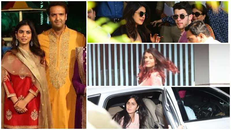 Isha Ambani and Anand Piramal wedding: Priyanka-Nick, Salman Khan, Katrina Kaif, Bachchans arrive at Udaipur