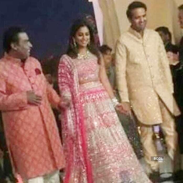 Check out inside photos of Isha Ambani and Anand Piramal's pre-wedding festivities