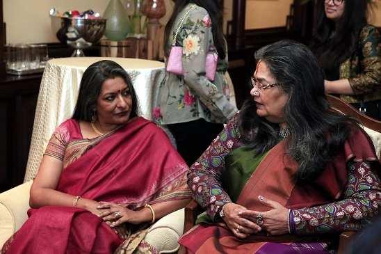 Nandita Palchoudhuri,Usha Uthup (2)
