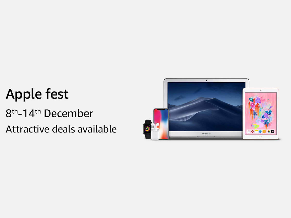 Apple fest on Amazon: Here are all the discounts you can get - Latest News | Gadgets Now