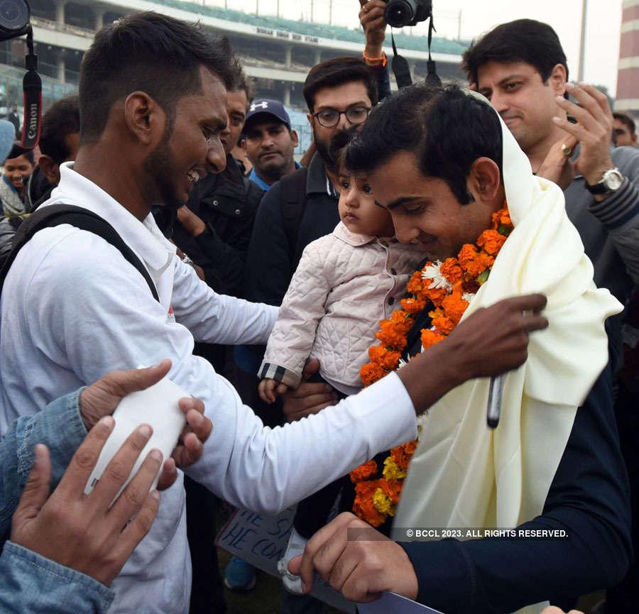 Gautam Gambhir bids adieu to cricket