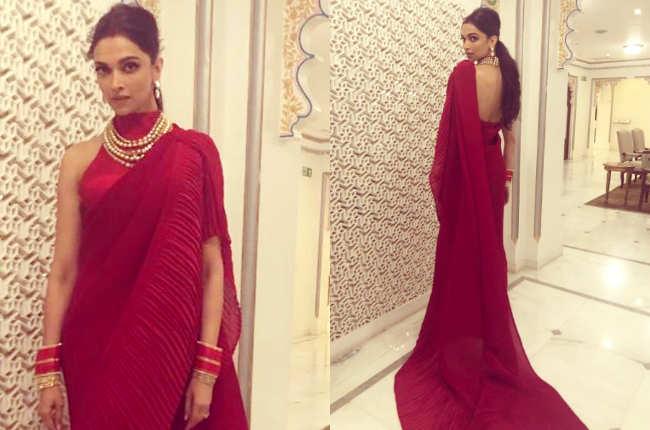 When Aishwarya Rai repeated a sari worn by Deepika Padukone