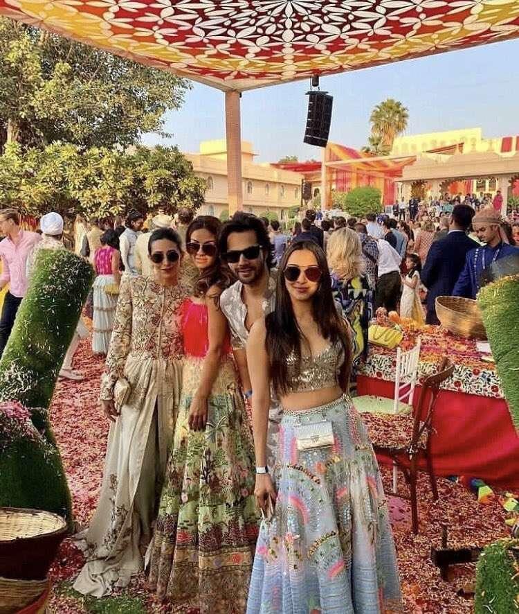 Isha Ambani and Anand Piramal's pre-wedding ceremonies photos