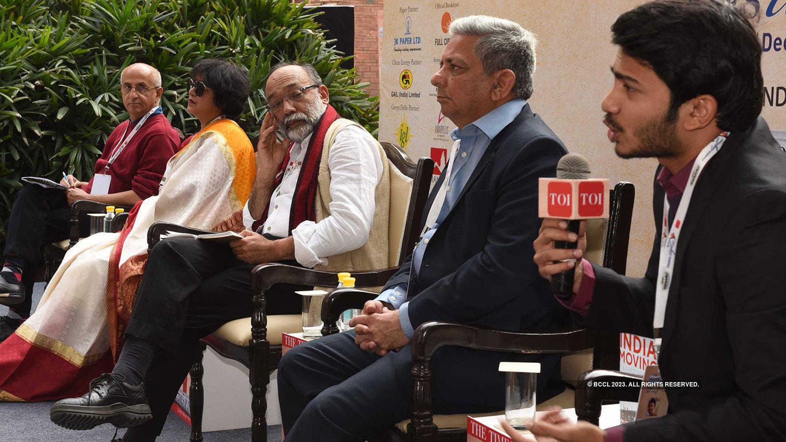 Times LitFest Delhi 2018: Day 1