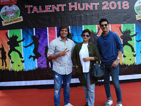 Talent-Hunt-judges-L-to-R-Choreographer-Rajeev-Surti,-TV-Actress-Pallavi-Rao-and-Actor-Vishal-Gandhi