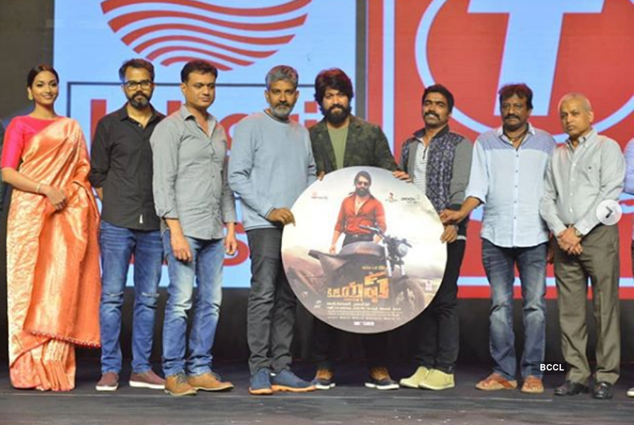 Baahubali director promotes Srinidhi Shetty's debut film KGF