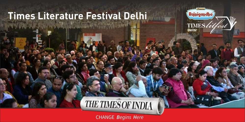 Times LitFest Delhi 2018