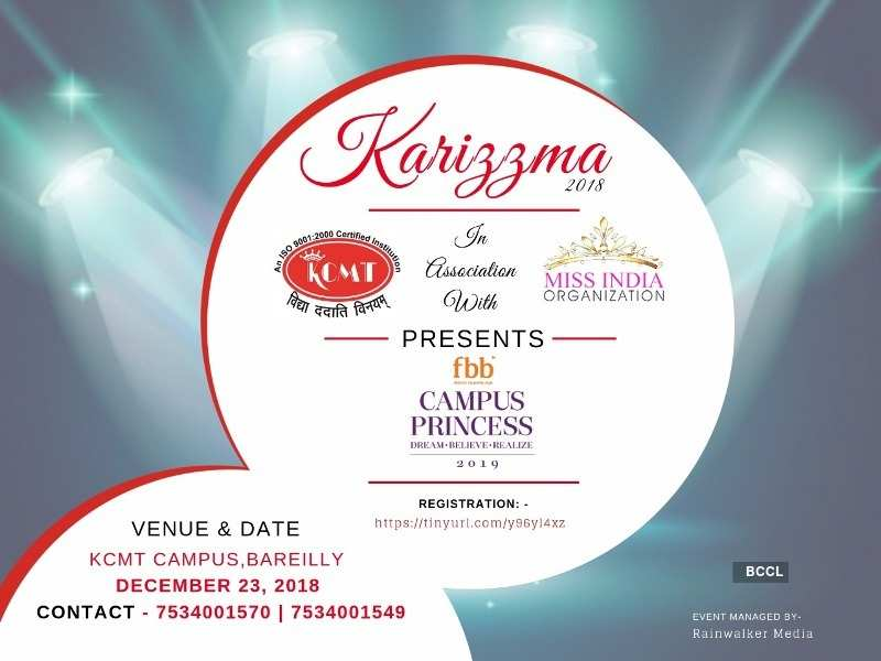 fbb Campus Princess 2019 auditions at Karizzma, Barielly