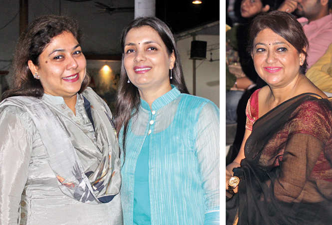 (L) Manisha and Nidhi Kapoor (R) Reena Peshwani (BCCL/ Arvind Kumar)