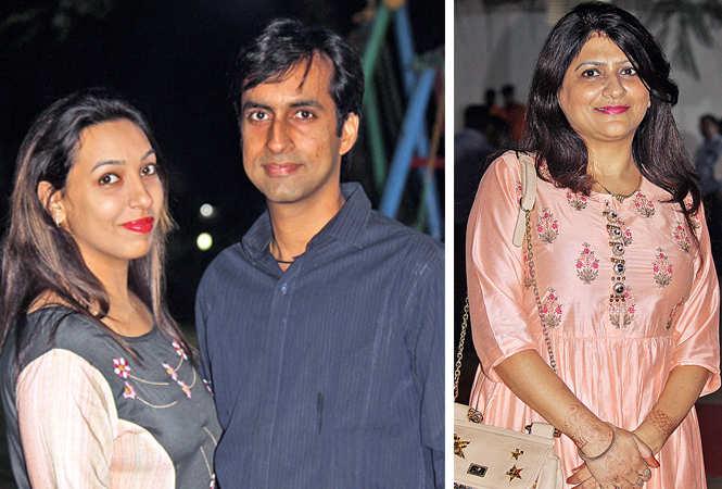 (L) Saprina and Alok (R) Shital Khanna (BCCL/ Arvind Kumar)