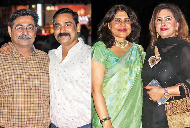 (L) Ajay and Ajani (R) Bharati and Pooja Madhok (BCCL/ Arvind Kumar)