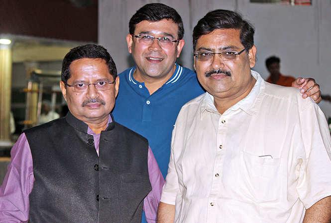 (L-R) Anil Singh, Navneet and Navin (BCCL/ Arvind Kumar)