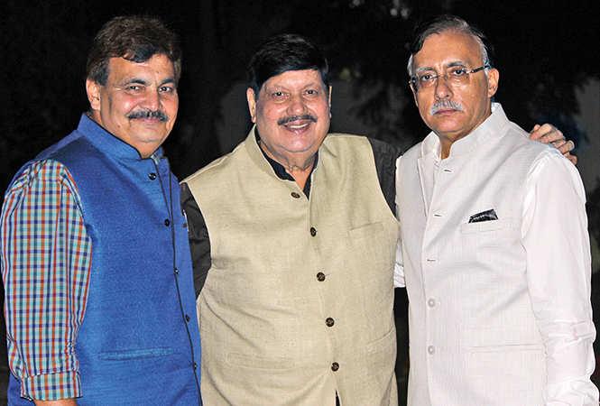 (L-R) Deepak Maheswari, Vijay Kapoor and Deepak Madhok (BCCL/ Arvind Kumar)