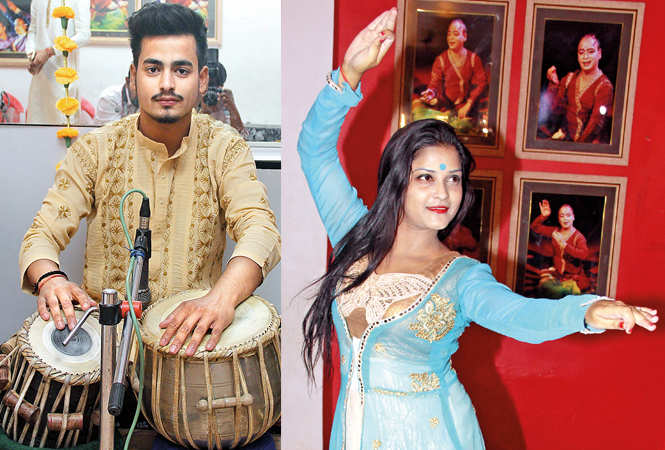 (L) Anirvan (R) Kantika Mishra (BCCL/  Aditya Yadav)