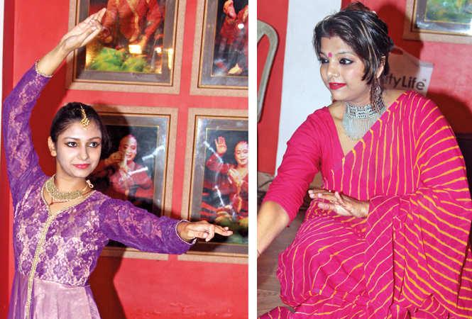 (L) Pallavi Sharma (R) Manisha Mishra (BCCL/  Aditya Yadav)
