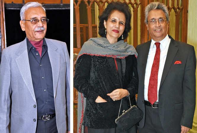 (L) Rajveer Samuel (R) Renu and Kush Bhargava (BCCL/  Vishnu Jaiswal)