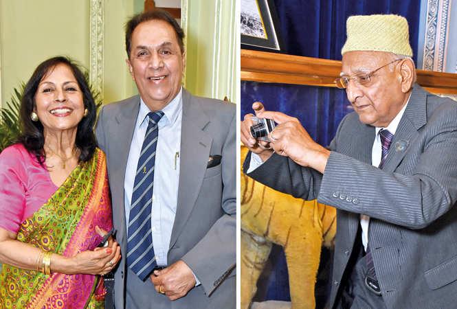 (L) Veena and Vivek Punvani (R) Sharad Seth (BCCL/  Vishnu Jaiswal)