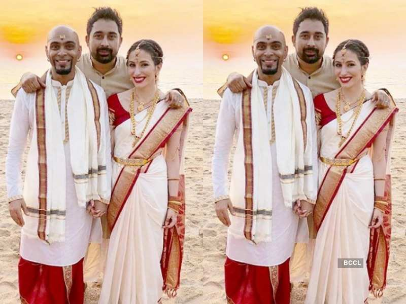 Roadies' Raghu Ram gets married to girlfriend Natalie, BFF Rannvijay shares first pic of the newly weds