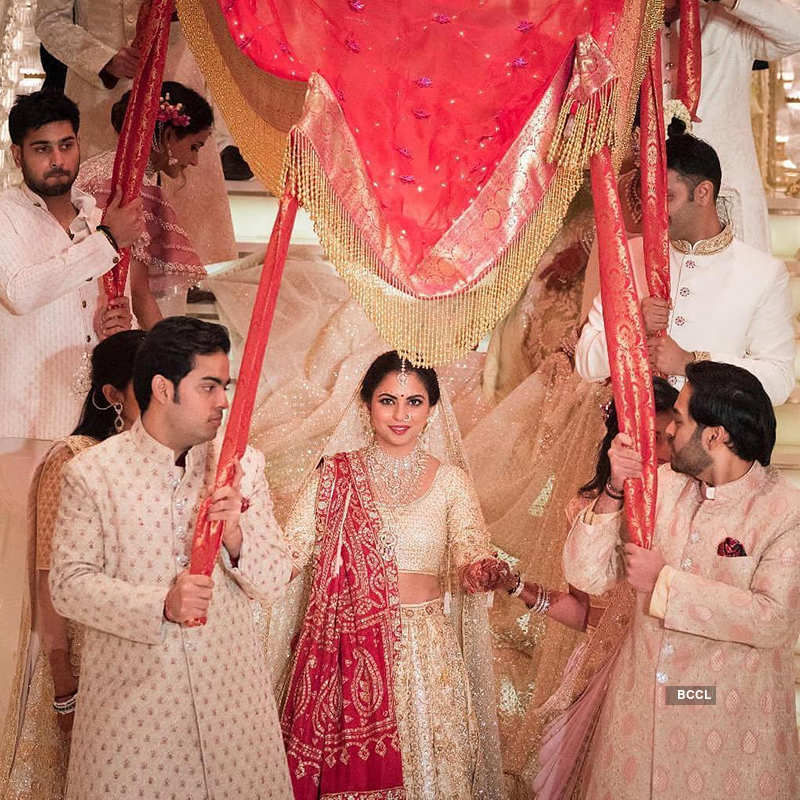 Isha Ambani and Anand Piramal's wedding pictures