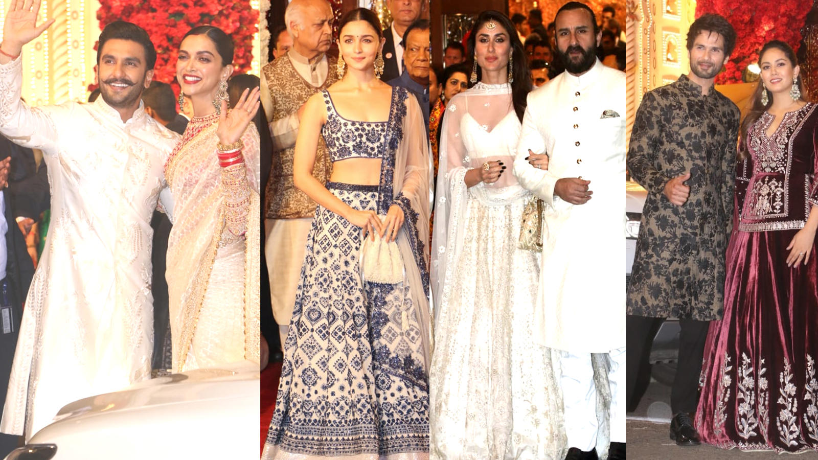 Bollywood celebrities attend Isha Ambani-Anand Piramal's wedding