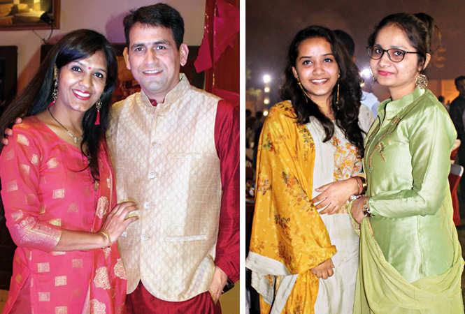 (L) Tanuja and Jitendra (R) Ariba and Anam (BCCL/ Arvind Kumar)