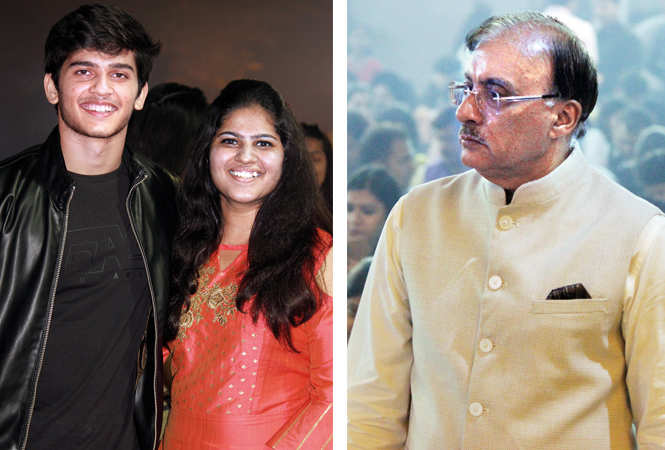 (L) Azar and Moorni (R) Deepak Madhok (BCCL/ Arvind Kumar)
