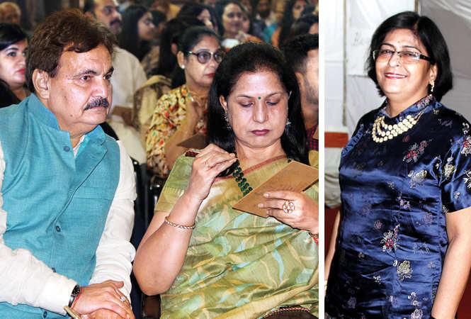(L) Deepak Maheshwari and Jyoti (R) Mirdula Joshi (BCCL/ Arvind Kumar)