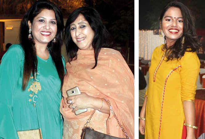 (L) Nancy Batra and Mohini Kapoor (R) Nadani (BCCL/ Arvind Kumar)