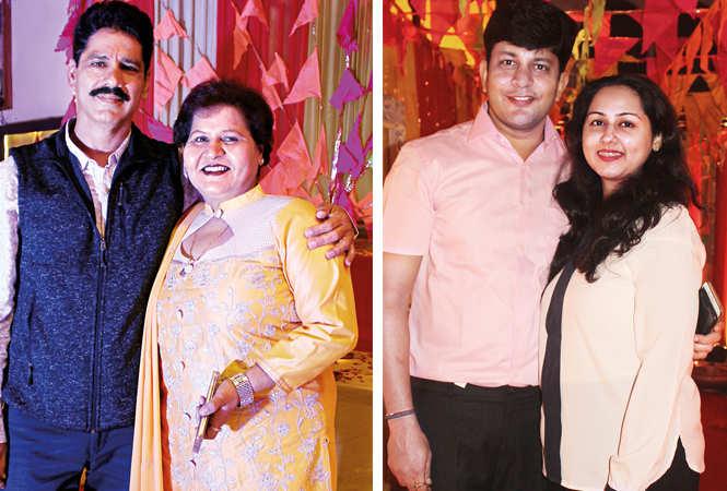 (L) Narendra and Smita (R) Rajat and Priya (BCCL/ Arvind Kumar)