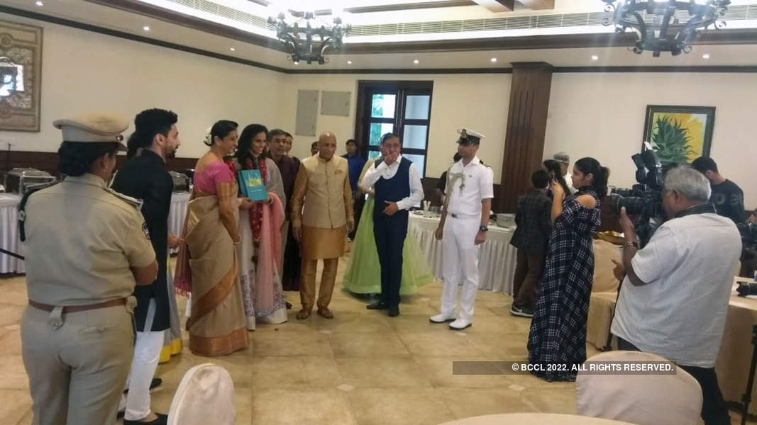 Saina Nehwal and Parupalli Kashyap's wedding pictures