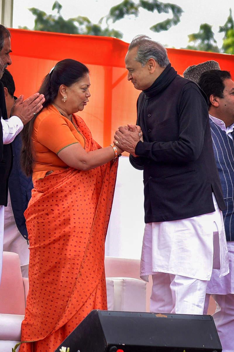 Ashok Gehlot sworn in as Rajasthan CM, Sachin Pilot Deputy CM