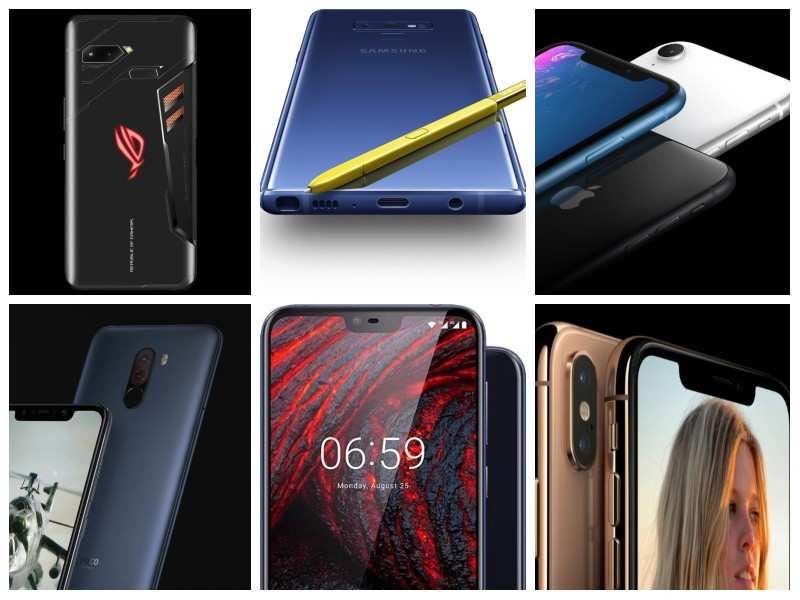 Best of the best: 15 top smartphones launched in 2018
