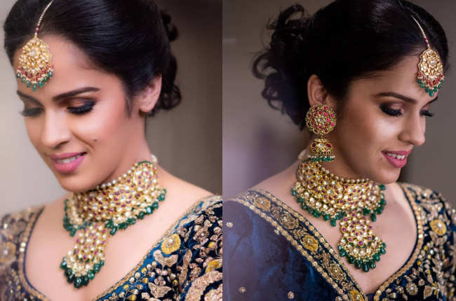 Saina Nehwal bridal look