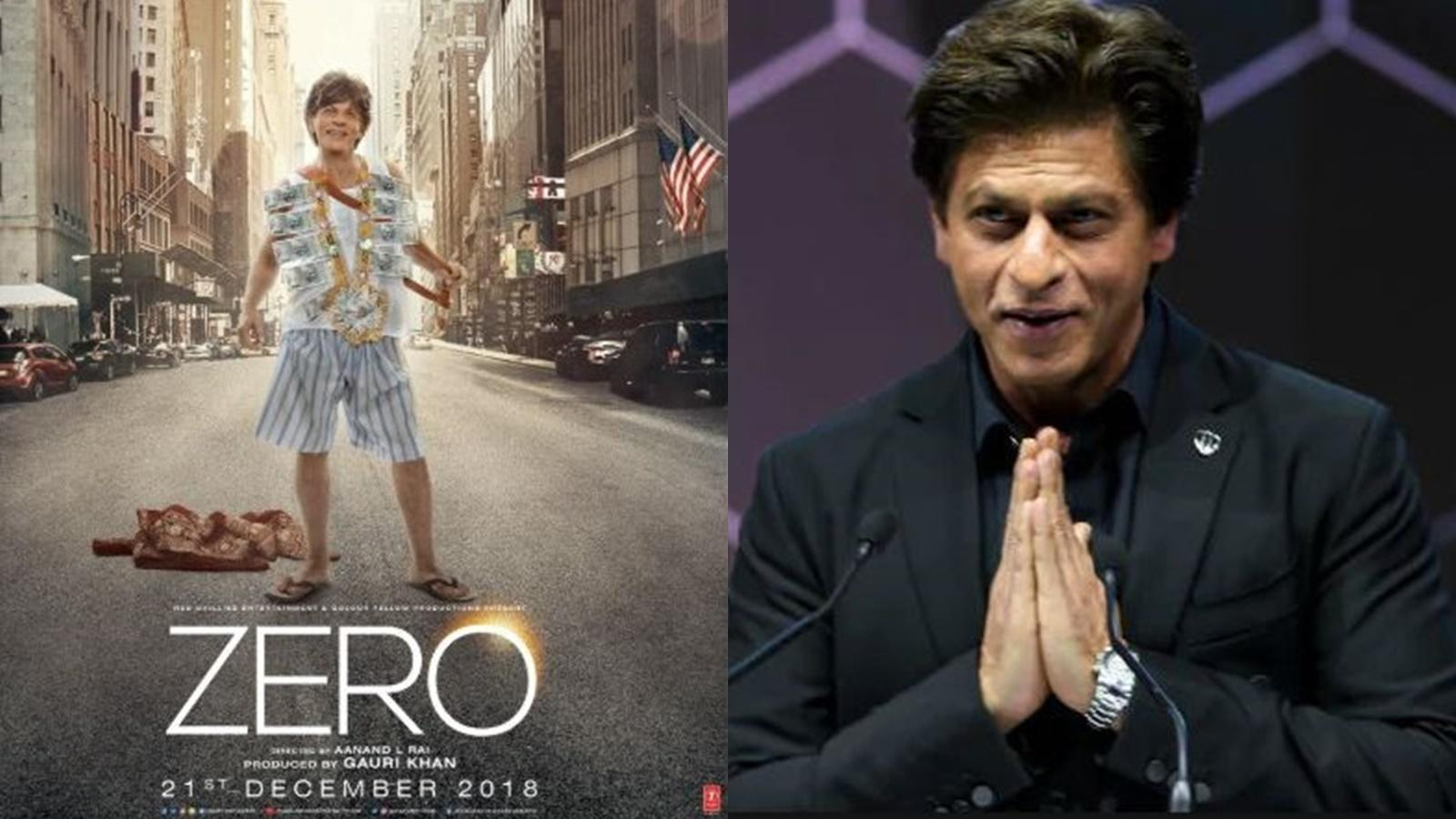 If 'Zero' fails, I will not get work for 6 months: Shah Rukh Khan