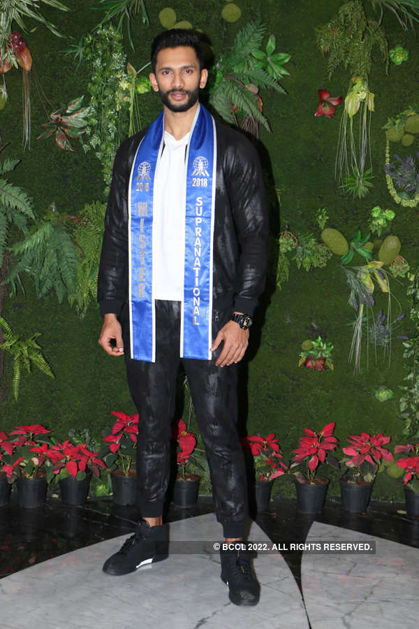 Prathamesh Maulingkar arrives in Mumbai after Mister Supranational win