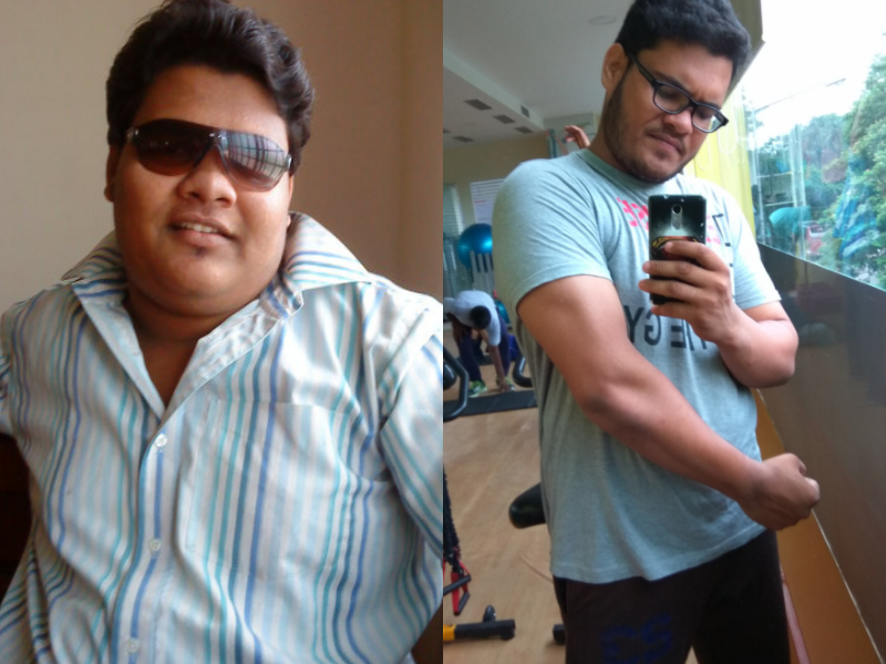 Not able to travel anymore this guy lost 40 kgs and his transformation is jaw-dropping!