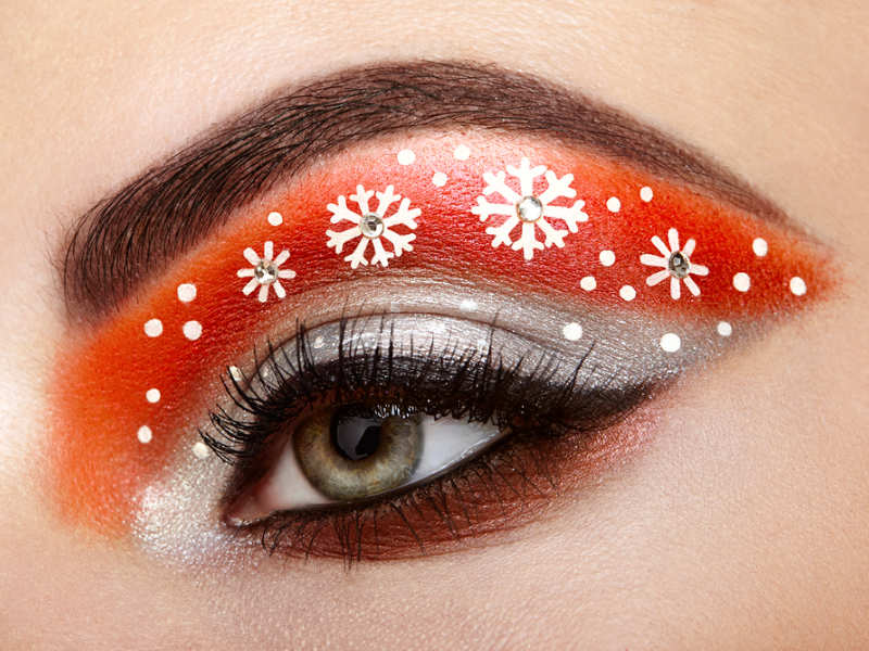 Christmas make-up tips