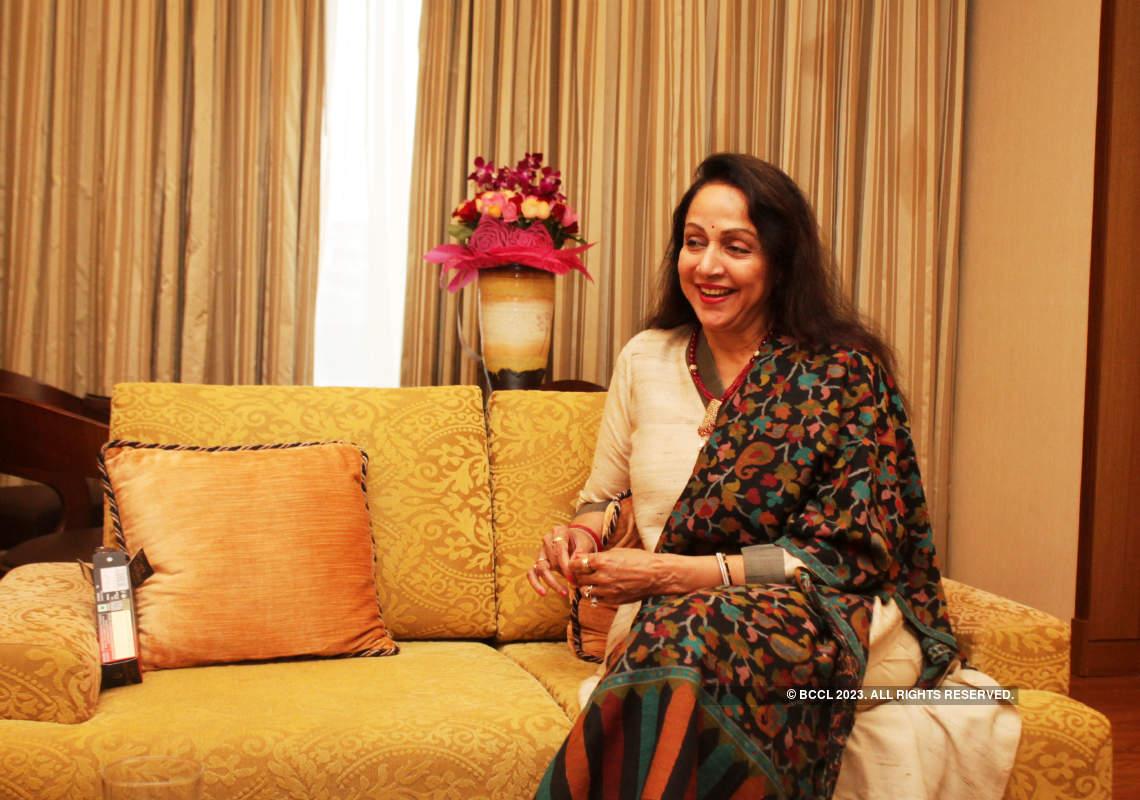 Actress Hema Malini's exclusive photoshoot
