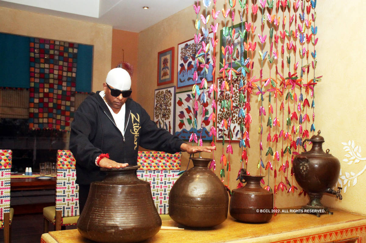 Ace percussionist A Sivamani's exclusive photoshoot