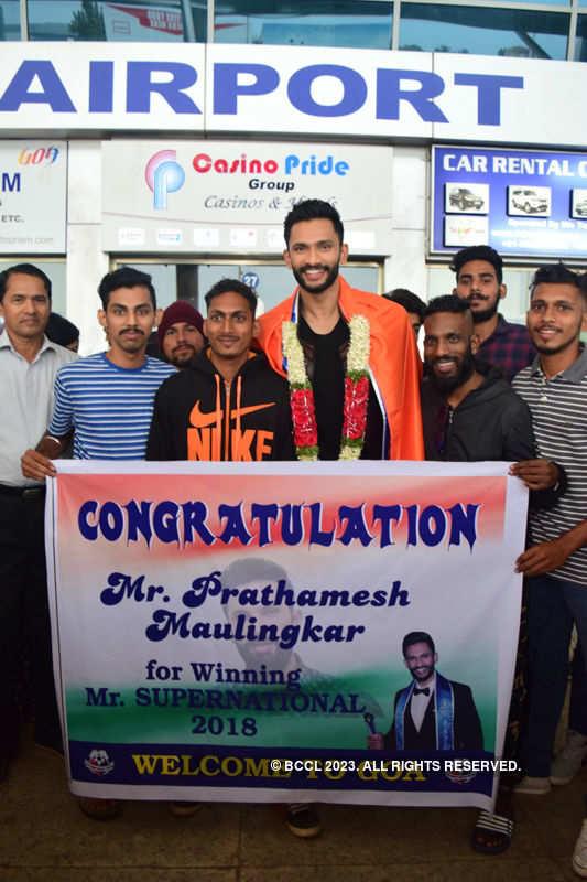 Prathamesh Maulingkar returns to his hometown after Mister Supranational win