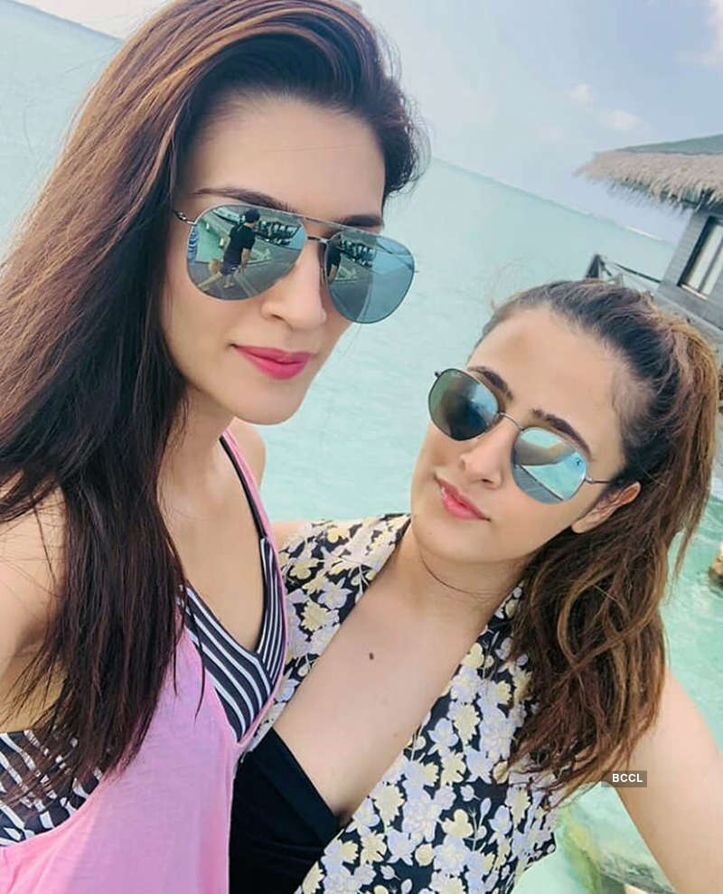 Kriti Sanon's holiday pictures will make you want to hit the beach!