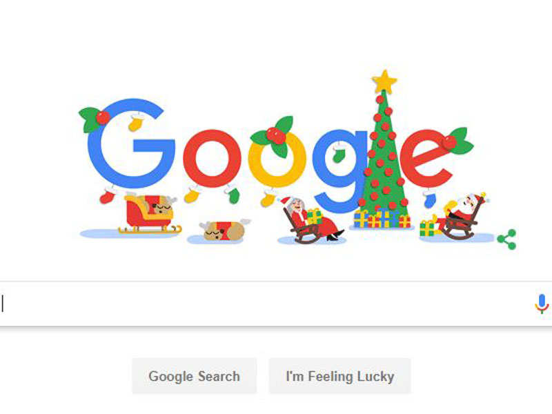Happy Holidays: Google celebrates Christmas with an animated Doodle