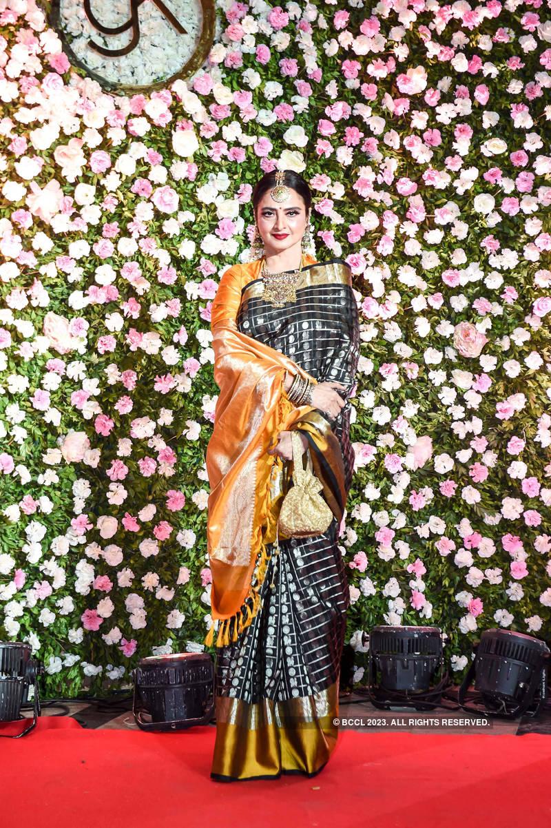 Kapil Sharma and Ginni Chatrath's star-studded wedding reception