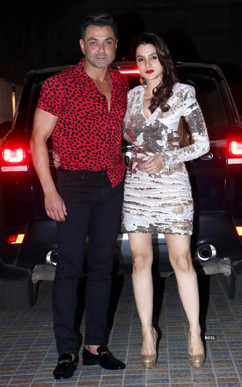 Rumoured lovebirds Salman Khan and Iulia Vantur attend starry Christmas party