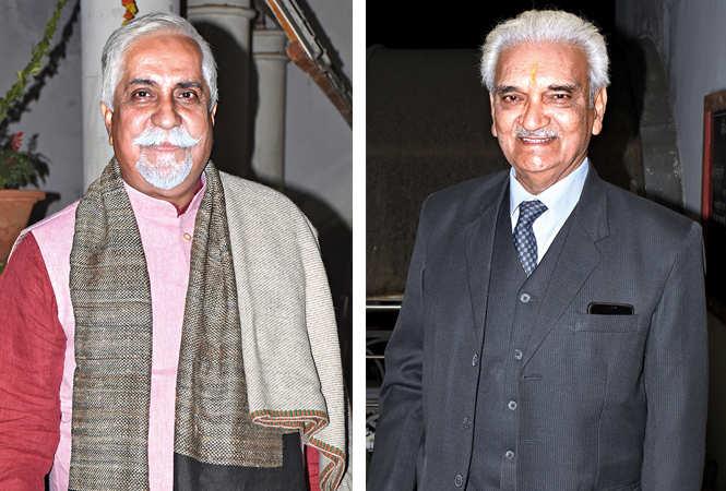 Anshumali Tandon and Anil Rastogi (BCCL/ Vishnu Jaiswal)