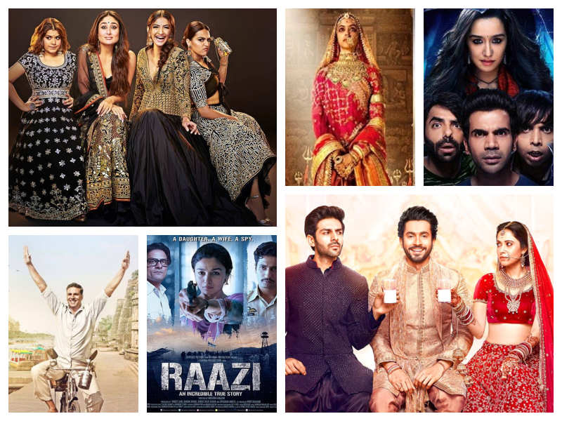 From 'Raazi' to 'Badhaai Ho': Top 10 Bollywood movies that
