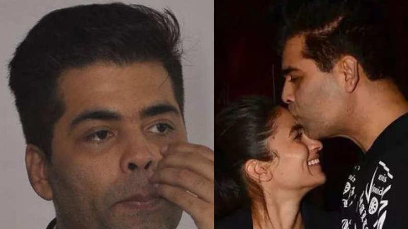 Karan Johar gets emotional to see Alia Bhatt's performance in 'Kalank'